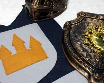 Knight Costume Set (Gold)