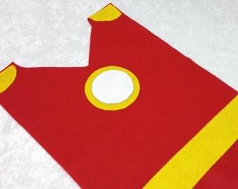 Adult / Big Kid Ironman Costume Tunic