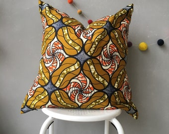 "African Pillow Cover, 20"" x 20"" pillow, home decor, decorative Pillow, Couch Pillow, Throw Pillow, homewares, scatter cushion, cushion cover"