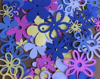 60 assorted Flowers Pansies Cricut Die Cut