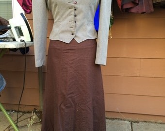 Size 7/8 costume dress and skirt