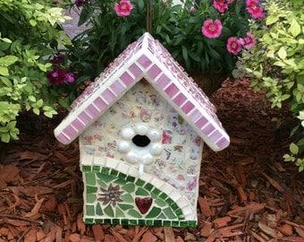 Mosaic Birdhouse (#38)