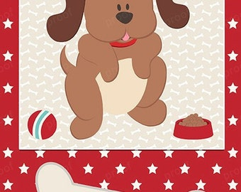 Puppy dog personalized bank