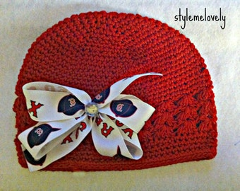Boston Red Sox Bow Hat