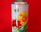 New Old Stock 70's Thermos - Vintage Thermos - Coffee Thermos - Cup Thermos - Tea Thermos - Travel Thermos 38 oz/1.15lt SUNFLOWER  Nr541