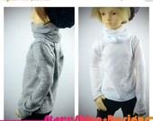 Anniversary Sale 20% Off BJD MSD 1/4 Doll clothing - Long-Sleeved Turtleneck - Your Choice of 20 Colors
