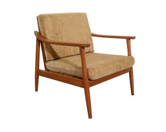 Danish Modern Lounge Chair Mid century Modern