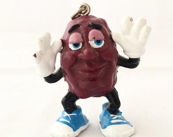 california raisin keychain charm figurine california raisins collectible toys 1987 - California Raisin Halloween Costume