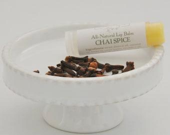 Chai Spice Natural Lip Balm, Chai Tea Lip Balm, Clove Lip Balm, Natural Beauty, Tea Lover, Bakery Flavor, Lips, Willow and Birch, Wholesale