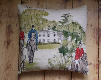 Hunting cushion cover