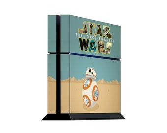 Star Wars BB8 PS4 Skin. Playstation 4 vinyl skin
