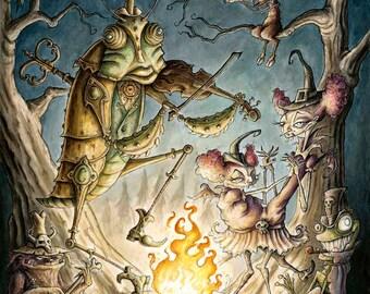 Figaro Fiddlesticks & the Fireside Freaks
