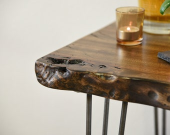 Reclaimed Live Edge Buffet Console Table / Desk
