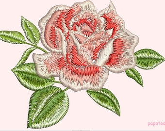 rose - Machine Embroidery design - tested