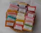 15 Soap Favors - Soap Samples - Bridal Shower Favors - Wedding Shower Favors - Baby Shower Favors - Hostess Gift - Party Favors