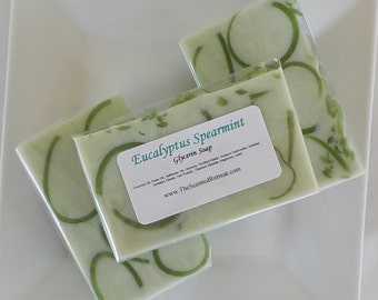 Eucalyptus Spearmint Glycerin Soap - Stress Relief