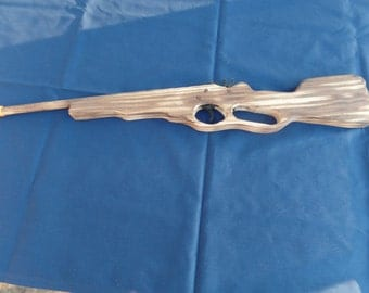 Toy Rubber Band Rifle