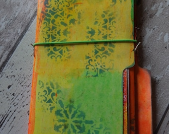 DIY junk journal smash book from FileFoldern