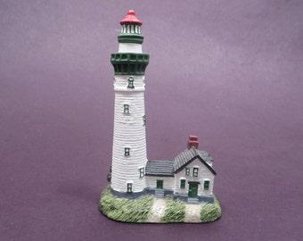 Collectible Scaasis Originals Lighthouse Figurine Presque Isle, MI