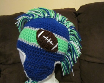 Football Mohawk Hat