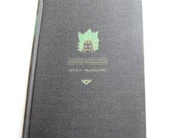 Vintage Book, Green Mansions