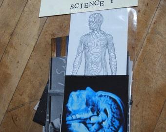 Vintage Ephemera Pack, Science, Anatomy, Strange