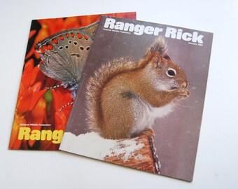 Ranger Rick Magazine Lot Of 9 (2008) National Wildlife Federation