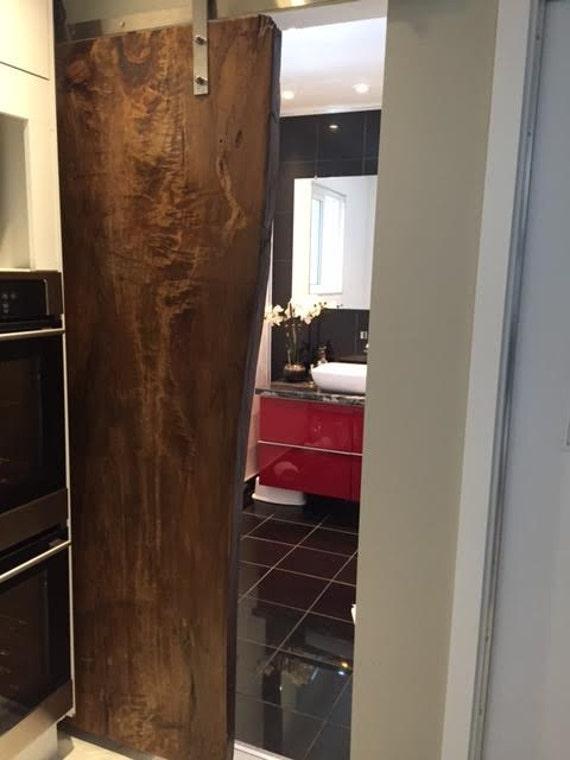 & Live Edge Door Wood Slab Doors Barn Board Sliding Doors Custom Pezcame.Com
