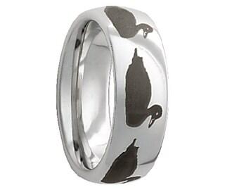 serinium wedding bandserinium wedding ringduckduck laser engravedrugged collection