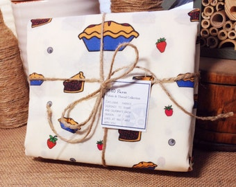 Homemade Berry Pie Exclusive Fabric