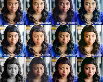 12 Lightroom Portrait Presets