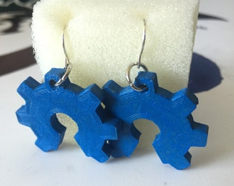 Open Source Hardware Logo 3D Printed Earring