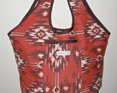 Small Southwestern Urban Shopping Tote