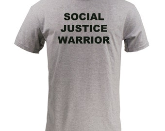 Social Justice Warrior - Sport Grey