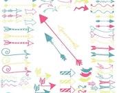 80% OFF SALE Arrows clipart commercial use, vector graphics, digital clip art, digital images  - CL581