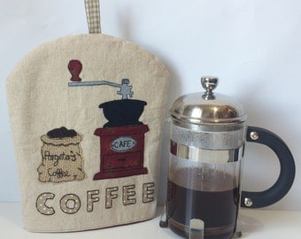 Small Cafetiere Cosy - Coffee Pot Cosy - Cafetiere Cover