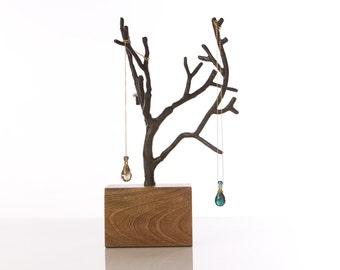 Gorgeous Manzanita Branch Jewelry Tree Display Piece Necklace Storage, Rustic