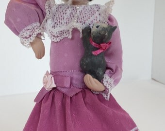 AVON Collector Doll Kitty Love 1993