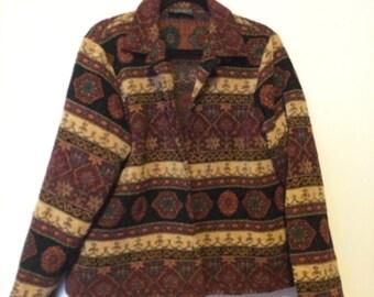 Tapestry Vintage Coat