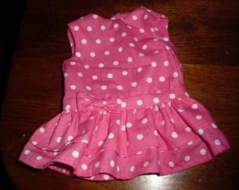 American Girl  pink dress