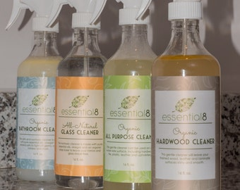 Organic Three-Cleaner Set, Choose Any Three Cleaners
