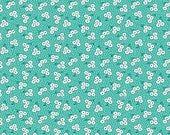 Teal Blosson 'Hope Chest' by Erin Turner for Penny Rose Fabrics
