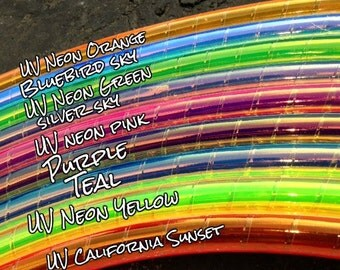 "Dream Weaver Colored 3/4"" PolyPro Hula Hoop - You Choose Color and Size for the Hoop"