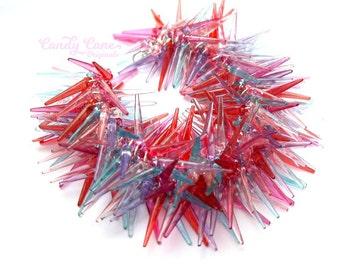 Pink Spike Bracelet