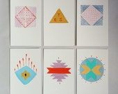 Hand Painted Postcards