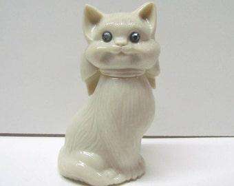 Vintage AVON Cat Bottle / Decanter Figurine, It is Empty - Home Decor - Collectible AVON