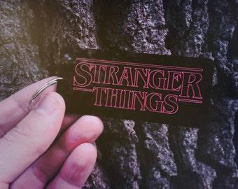 Stranger Things Keyring