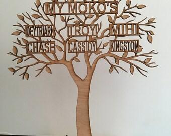Family Tree Freestanding Medium Size