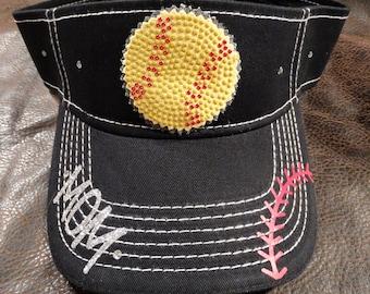 Softball mom visor