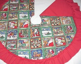 The Night Before Christmas  Tree Skirt 151